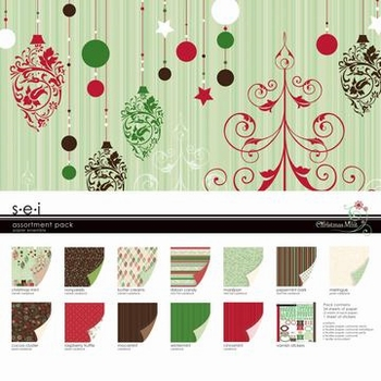 S.E.I. Assortment pack Christmas 8-3599 mint
