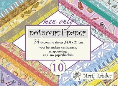 Boekje achtergrond Marij Rahder Potpourri MRP10 Men Only