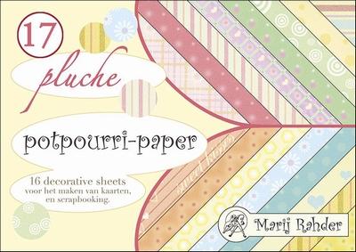 Boekje achtergrond Marij Rahder Potpourri MRP17 Pluche