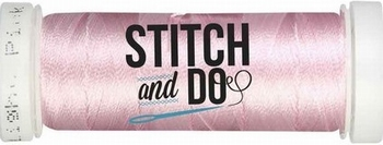 Stitch & Do 200 m Linnen SDCD15 Licht roze