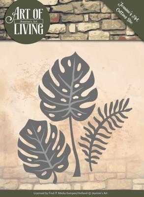 Die Jeanines Art JAD10055 Art of Living Leaves