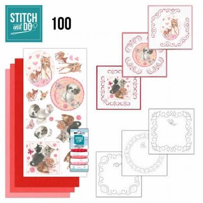 Stitch and Do STDO100 Playful Pets