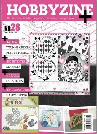 Hobbyzine Plus 28 + 4 gratis knipvellen + PM10151 Vogeltje