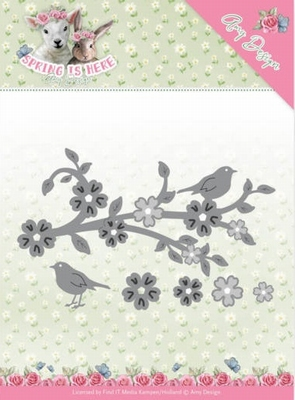 Amy Design Die Spring is Here ADD10171 Blossom Branch