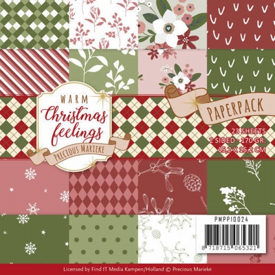 Marieke Warm Christmas Feelings PMPP10024 Paperpack