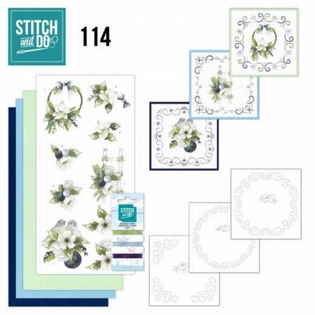 Stitch and Do borduursetje STDO114 Blueberry Christmas