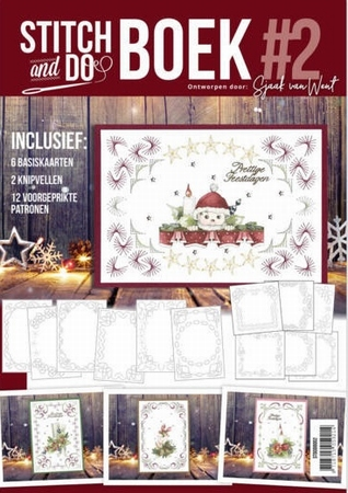 Stitch and Do STDOBB002 A6 Boek 2 Warm Christmas Feelings