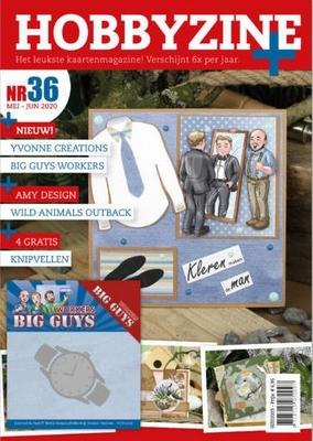 Hobbyzine Plus 36 + 4 gratis knipvellen + YCD10206 Watch Die