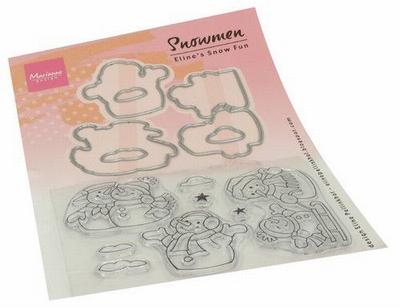 MD Clear Stamps EC0184 Eline's Sneeuwpop