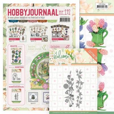 Hobbyjournaal 192 + Jeanine Knipvel CD11633 + Dies JAD10114