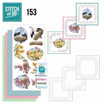 Stitch and Do borduursetje STDO153 Enjoy Spring