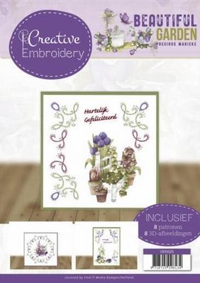 Creative Embroidery 25 CB10025 Marieke Beautiful Garden