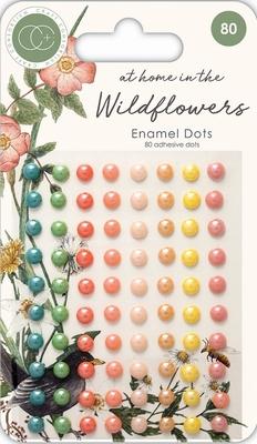Enamel dots Craft Consortium CCADOT007 Wildflowers