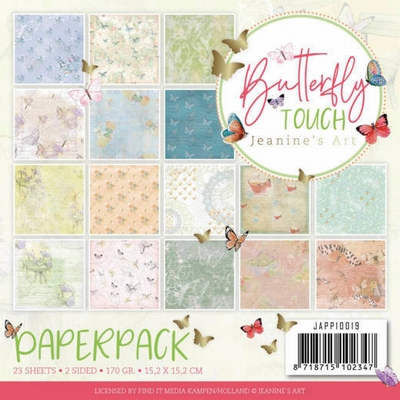 Jeanine's Art Butterfly Touch JAPP10019 Paperpack