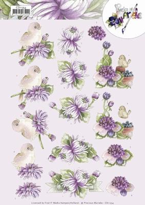 3D Knipvel Precious Marieke CD11354 Chrysanthemum