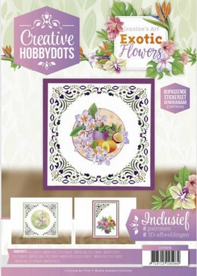 Creative Hobbydots 16 CH10016 Jeanine Exotic Flowers