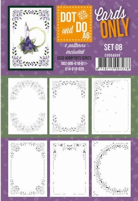 Dot & Do Cards Only A6 CODOA608