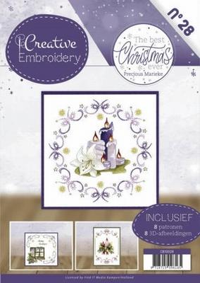 Creative Embroidery 28 CB10028 Marieke The Best Christmas