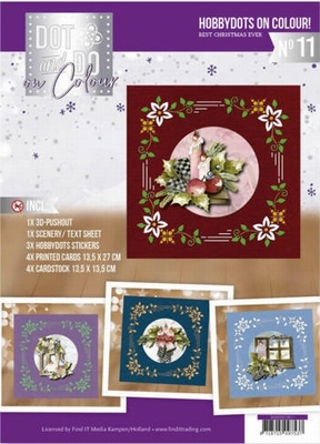 Dot and Do on Colour DODOOC10011 Marieke The Best Christmas