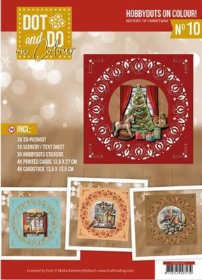 Dot and Do on Colour 10 DODOOC10010 Amy History of Christmas