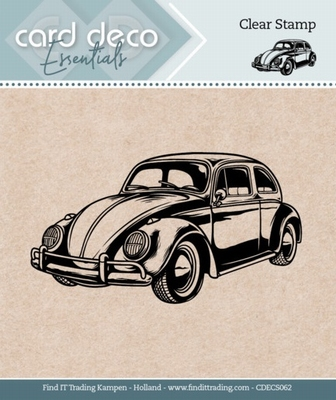 Card Deco Essentials Clear stamps CDECS062 Cars