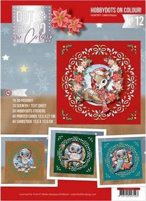 Dot and Do on Colour 12 DODOOC10012 Yvonne Wintry Christmas