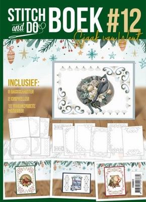 Stitch and do Book 12 STDOBB012 Kerst
