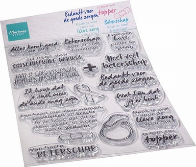 MD Clear Stamps CS1080 Zorg & herstel