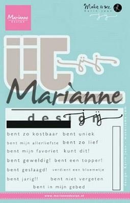 MD Clear Stamp Karin Joan KJ1726 JIJ