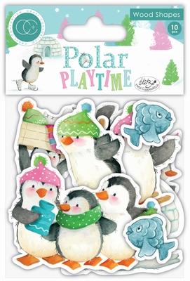 Craft Consortium Polar Playtime CCWDNS003 Wood Shapes
