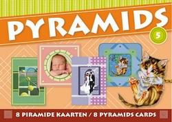 3D Excellent Pyramids boekje nr  5 Diverse