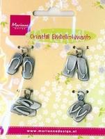 MD oriental embellisments bedeltjes OE865 Slippers