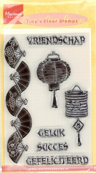 MD Tiny's Clear stamps TC0801 Vriendschap