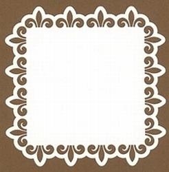 PaperUp oplegkaart 601029 vierkant Ornament