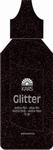 Kars Glitter extra fijn poeder zwart