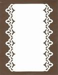 PaperUp oplegkaart A6 601026 Rectangle deco