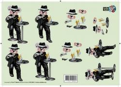 A4 Knipvel Creddy World CW10001 Hazes
