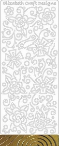 Elizabeth Craft Designs Sticker 0363 Doodle bloemen