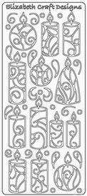 Elisabeth Craft Designs Sticker 0355 Kerst kaarsen