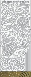 Elisabeth Craft Designs Sticker 0439 Kerstbal
