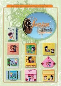 3D Boek Season Sheets Spring cards deel 1