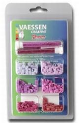 Vaessen Mozaiek incl. glitter ass. 001 lila-roze