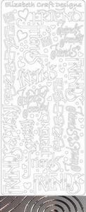 Elisabeth Craft Design Sticker 2836 Friends