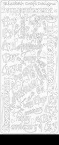 Elisabeth Craft Design Sticker 2837 Happy Anniversary