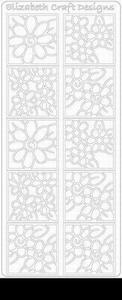 Elizabeth Craft Designs Sticker 0157 Bloemen in 4kant
