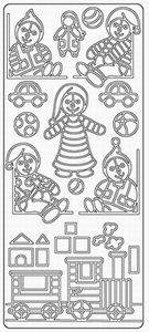 Elizabeth Craft Designs Sticker 0159 Speelgoed