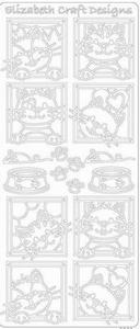 Elizabeth Craft Designs Sticker 0360 Dieren grappig katje
