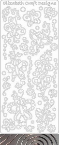 Elizabeth Craft Designs Sticker 0362 Doodle Vlinder