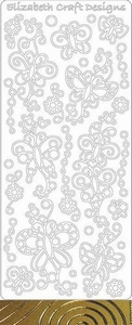 Elizabeth Craft Designs Sticker 0362 Doodle Vlinder