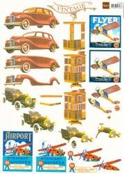 A4 Knipvel MD VK9509 Vintage Heren